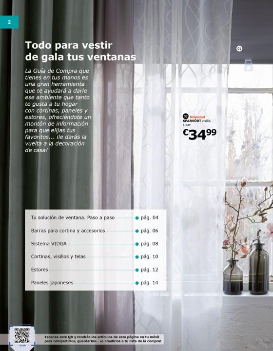 Telas Para Cortinas Ikea. Rcka Hugad Comb Barr Cortdobl Ikea Ideas ...